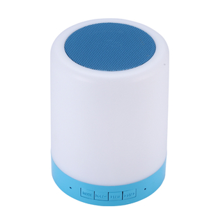 Touch Lamp Wireless Bluetooth Speaker with Touch Control LED